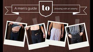 Ostomy clothing guide for men