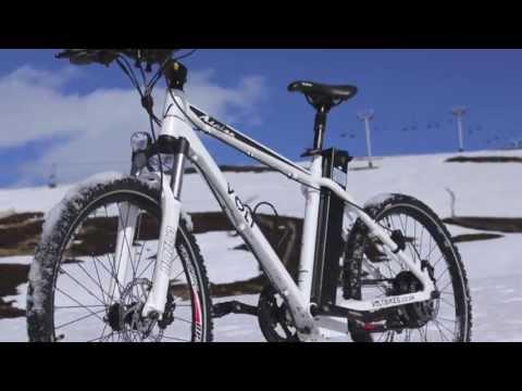 VOLT™ Alpine Electric Mountain Bike - Riding up to Glenshee Ski Centre - April 2013