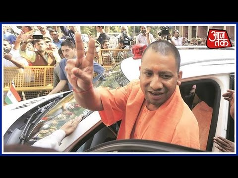 Thumbnail: As Adityanath Heads To Gorakhpur, Supporters Compare Yogi With The Hero OF Movie Nayak