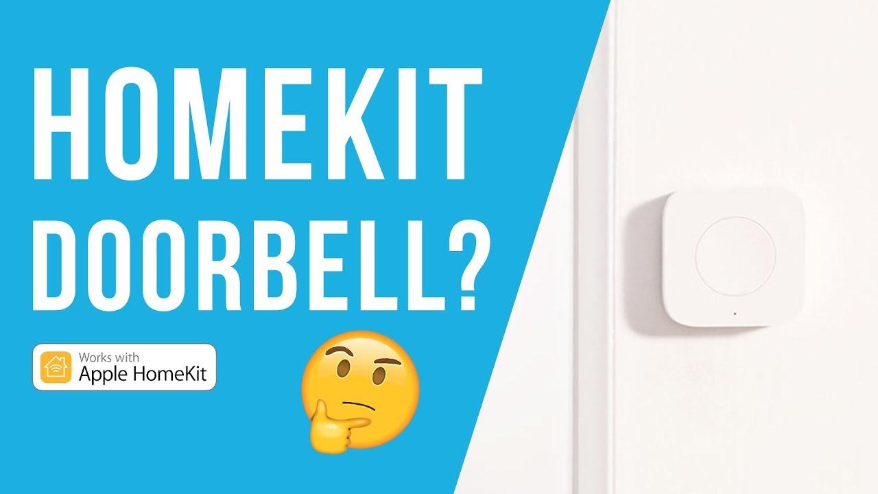 HomeKit Doorbell - Aqara Mini Switch HomeKit Button