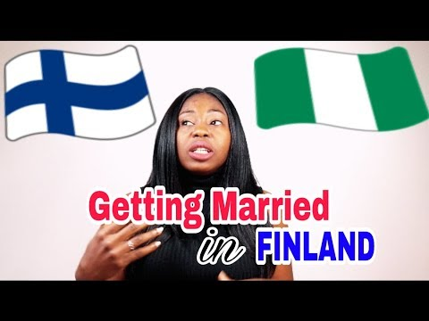 Finnish Culture Shock: Getting Married In Finland vs Getting Married In Nigeria
