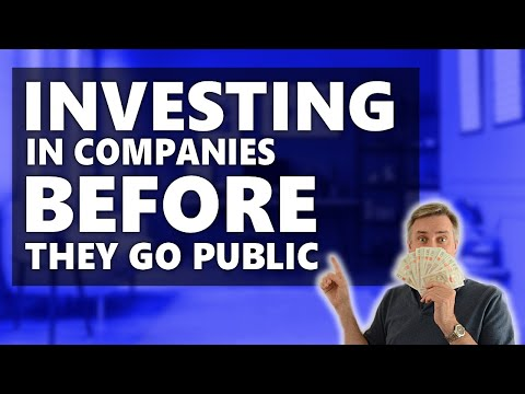 Investing in companies before they go public [pre ipo stocks]