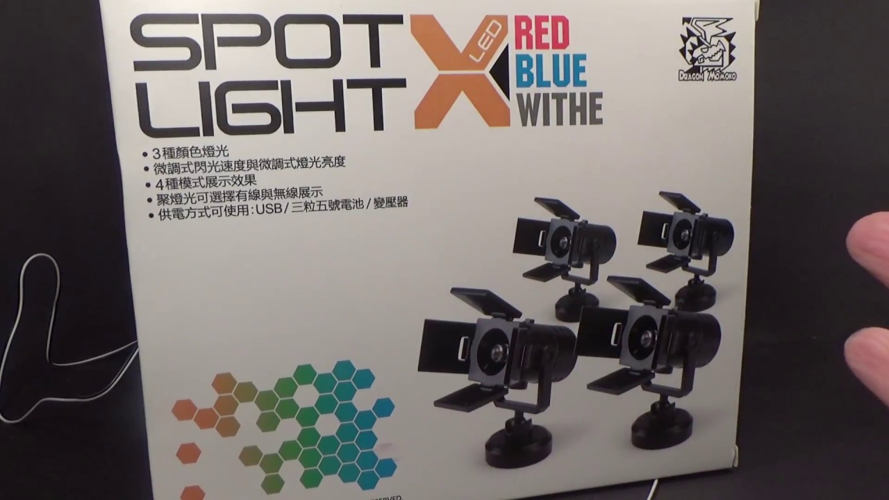 Dragon Momoko LED Spotlight Review