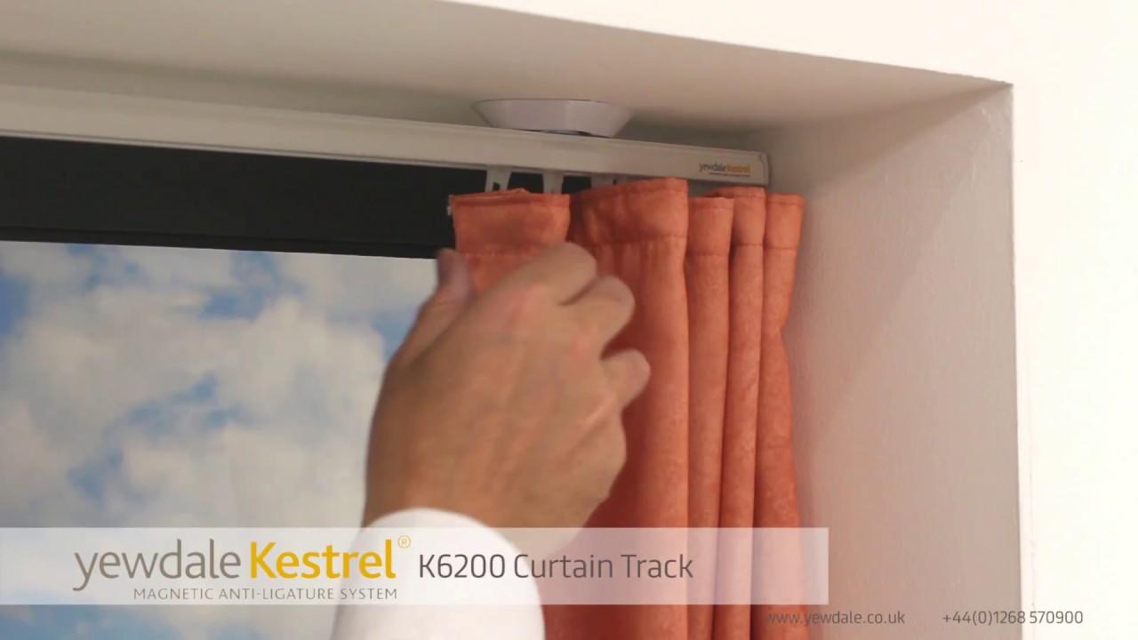 K6200 Anti Ligature Window Curtain Track