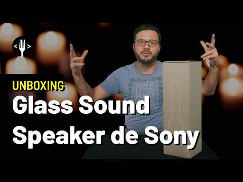 Unboxing: Glass Sound, la bocina-lampara de Sony