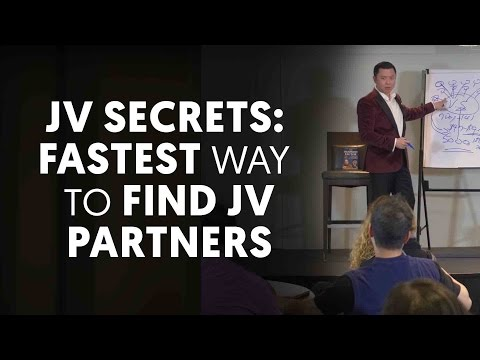 JV Secrets: The Fastest Way To Find Joint Venture Partners - Joint Venture Marketing Ep. 9