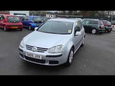 Used Volkswagen Golf 1.6 Fsi se For Sale Stockport Manchester MotorClick.co.uk