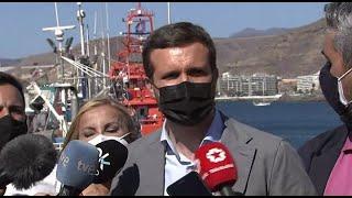 Casado responsabiliza a Sánchez de la crisis migratoria