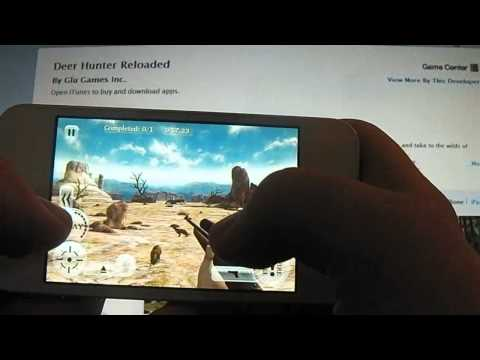 Deer Hunter Reloaded (Free Download) App Review For IPhone, IPod Touch And IPad (HD)