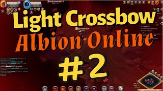 Playing Light Crossbow 🏹 - Corrupted Dungeons - Albion Online #1