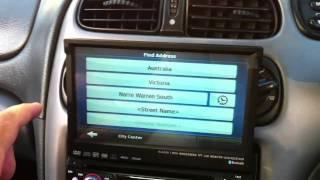 """7"""" LCD 1 DIN CAR STEREO IN DASH TV CD DVD PLAYER GPS AU AL8007"""