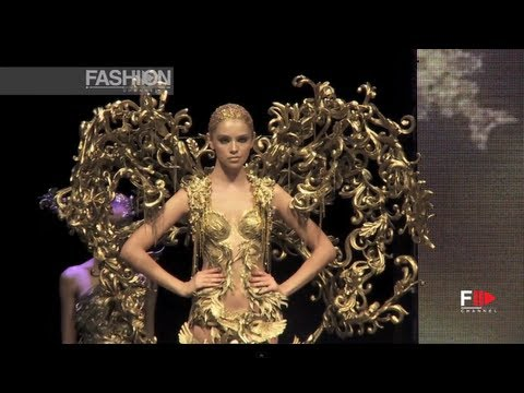 "Tribute to Jakarta Fashion Week with ""TEX SAVERIO"" collection 2012 by FashionChannel"