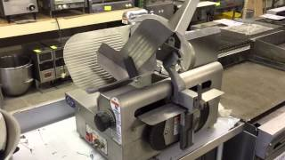 "Used Globe Meat Slicer 12"" Model 3875V [HD]"