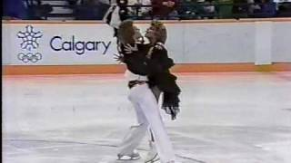 Bestemianova & Bukin (URS) - 1988 Calgary, Ice Dancing, Original Set Pattern