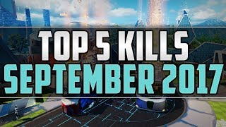 Call of Duty: Top 5 Kills of the Month ● Jumpshot 5 in 1 ● September 2017