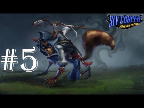 Sly Cooper: Thieves In Time - Walkthrough - Part 5 - Murray Dance Dance Revolution (PS3)