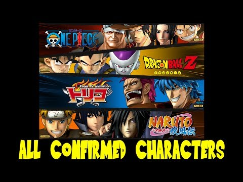 J-Stars Victory VS - Complete Character Roster List (All 54 Confirmed Characters)