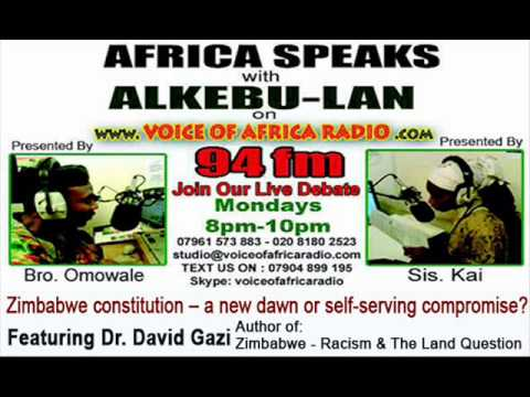 Zimbabwe Constitution -- A New Dawn or Self-Serving Compromise? Voice of Africa Radio