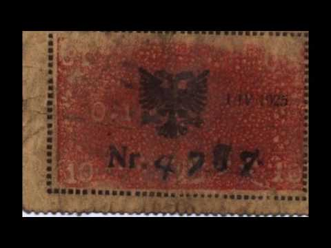 Currencies of the World: Principality of Albania; Albanian Franc (1925)