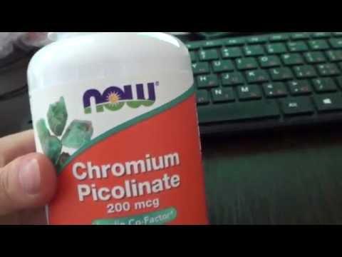 Хром от Нау от тяги на сладкое с сайта Айхерб   iHerb продукция NOW для похудения