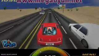 Ferrari Yarışı - 3D Araba Oyunları - 3D Oyuncu   www.megaoyun.net