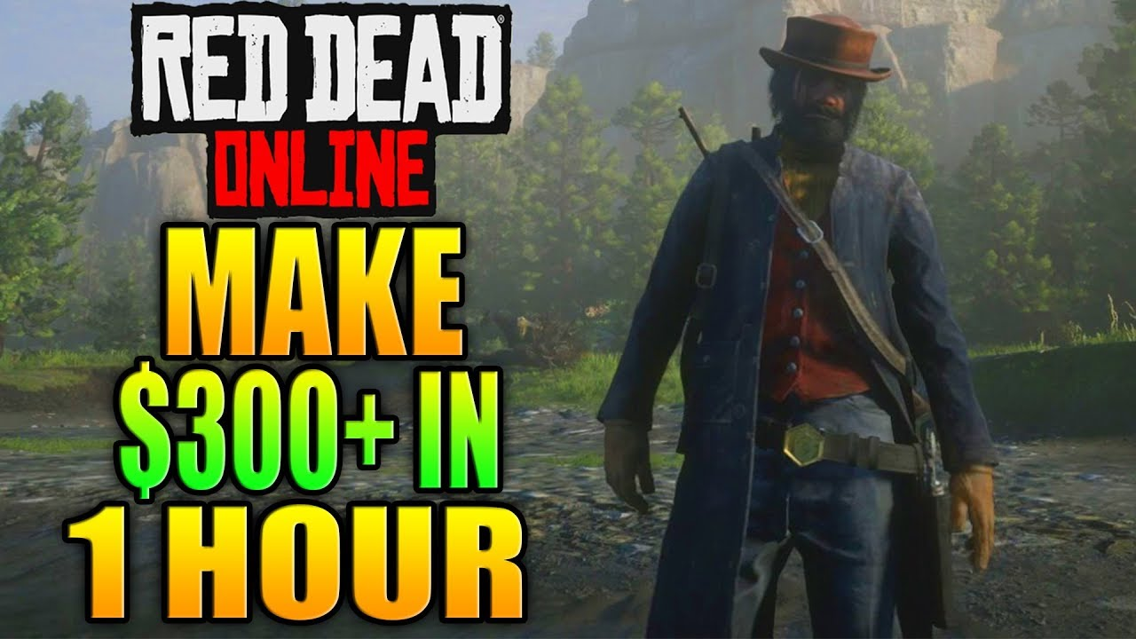 How to earn money online rdr2