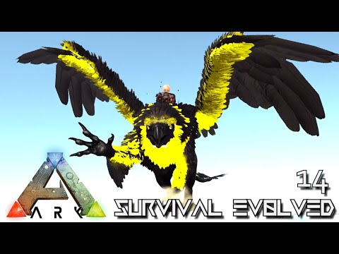 ARK: SURVIVAL EVOLVED - ABANDONED & RUTHLESS GRIFFIN EVOLUTION !!! | PARADOS GAIA AMISSA E14