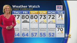CBS 2 Weather Watch 5 p.m. 5-22-19