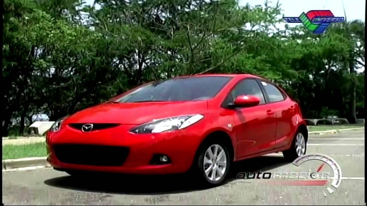 mazda 2 2008 test drive automocion tv - youtube