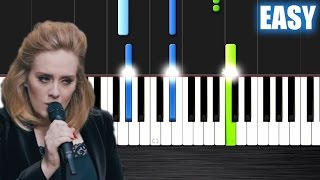 Video Adele - When We Were Young - EASY Piano Tutorial by PlutaX - Synthesia download MP3, 3GP, MP4, WEBM, AVI, FLV Desember 2017