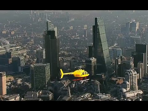 DHL Beats Traffic With London's First Express Helicopter Service