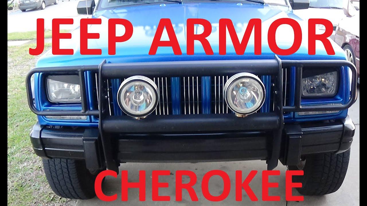 Jeep Cherokee Xj Bumpers >> JEEP CHEROKEE XJ ARMOR BULL GUARD / PUSH GUARD UPGRADE - YouTube