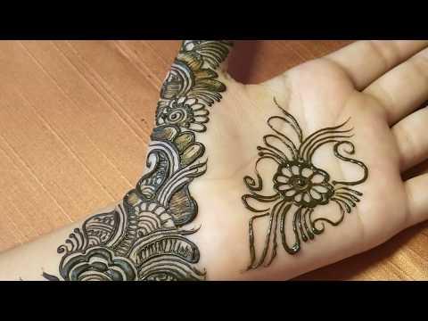 Latest Simple Mehndi Design    Front Hand Mehndi Design    Prati Creations