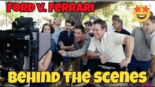 """Ford vs.Ferrari""  behind the scenes EXCLUSIVE!"
