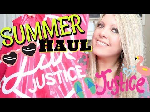 💗 HUGE JUSTICE SUMMER HAUL 💗 TWIN GIRLS 💗 MEGA SALE!!
