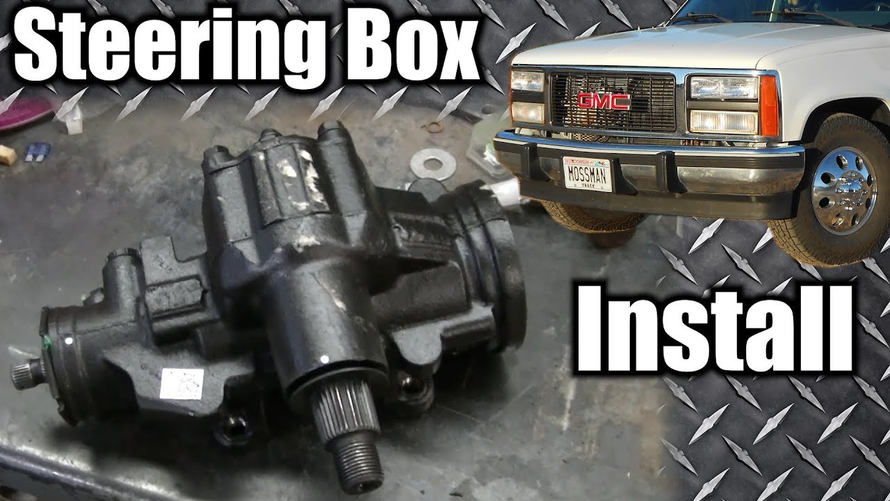 medium resolution of 91 gmc c3500 dually steering box replacement