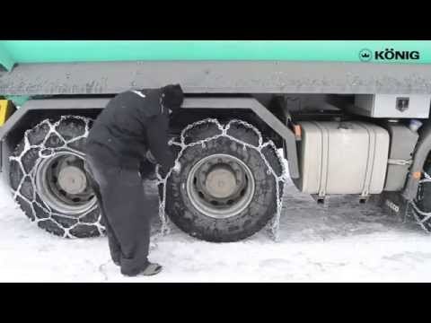 König Professional Snow Chains Tutorial