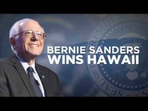 VIDEO: Sanders wins big in Hawaii Democratic presidential caucus