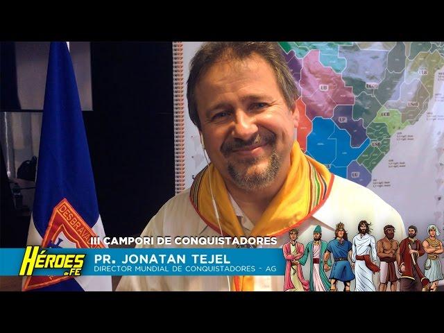 Pr. Jonatan Tejel invita a #HeroesdeFe