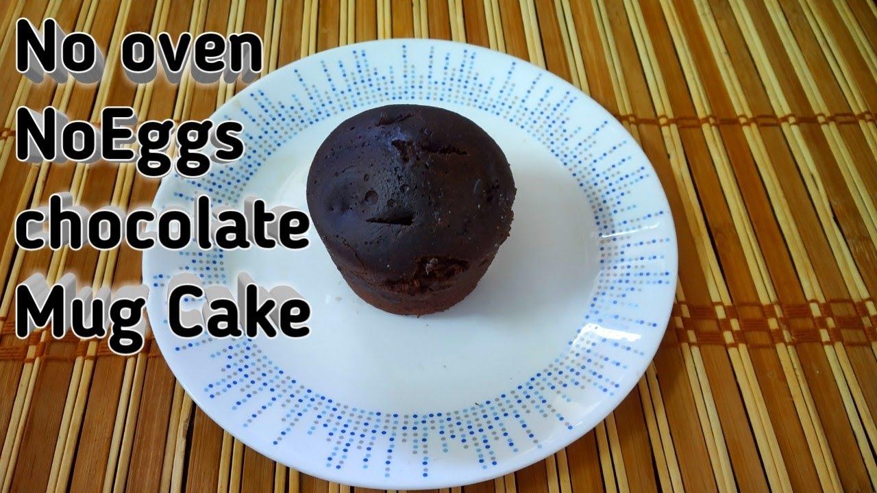 Soft Mug Cake Recipe||Without Oven No Eggs||How To Make ...