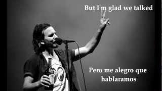 PEARL JAM - ALIVE/SUBTITULADO (INGLES/ESPAÑOL)