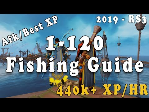 Runescape 3 - 1-120 Fishing Guide [2019]