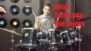 vuclip Hotel California Drum Tutorial - The Eagles