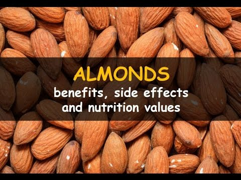 10  Benefits of Almonds Nutrition | Badam Ke Benefits - बादाम खाने के 10 फायदे