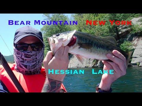 Bear Mountain New York Fishing Trip!! 2017 On Hessian Lake! Good Fun Fishing!