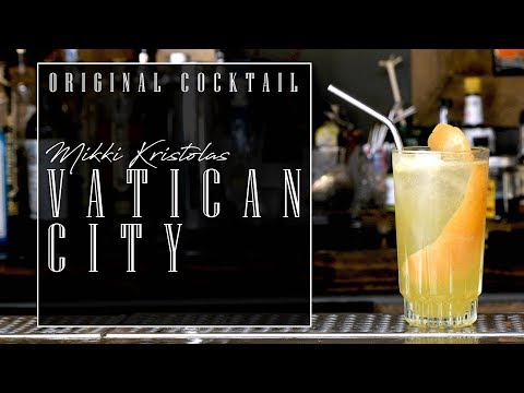 Original Cocktail: Vatican City with Mikki Kristola