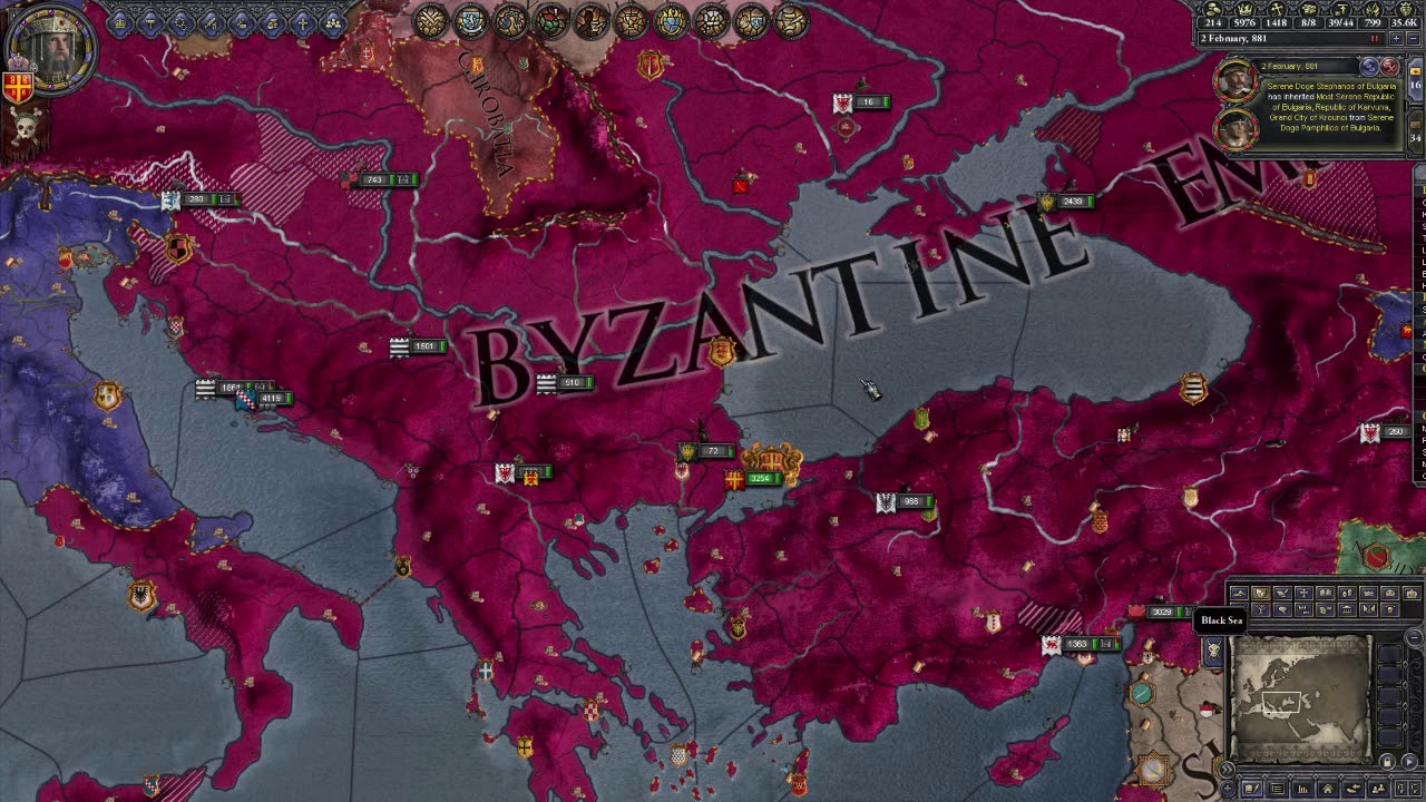 Crusader Kings 2: Jade Byz 44 - Rebuilding Retinue