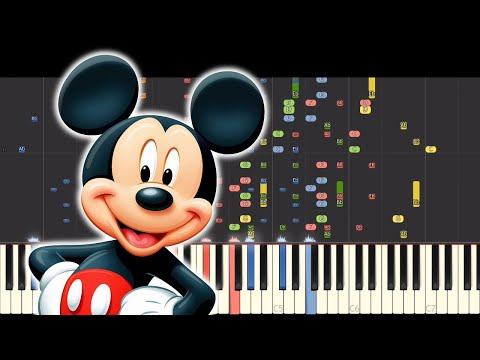 Impossible Remix Mickey Mouse Clubhouse Theme Song Piano Cover