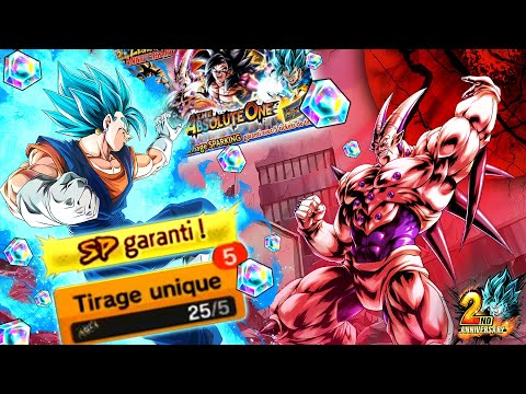 INVOCATIONS 2 ANS DB LEGENDS 5 SPARKING GARANTIS