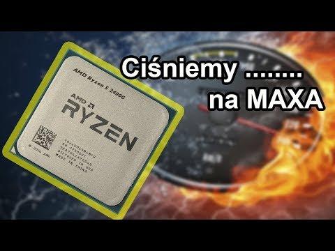 Ryzen 5 2400G  - Taktowanie RAM i OC vs wzrost wydajności.